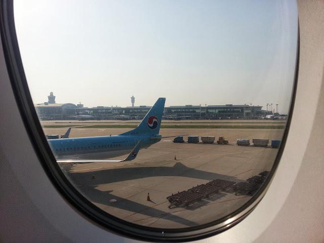 Korean at Gate Incheon