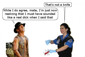 TSA Thinks It Isn't a Knife