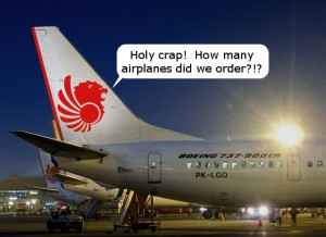 Lion Air Orders