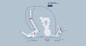 Delta JFK Map