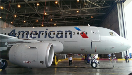 American A319 Exterior
