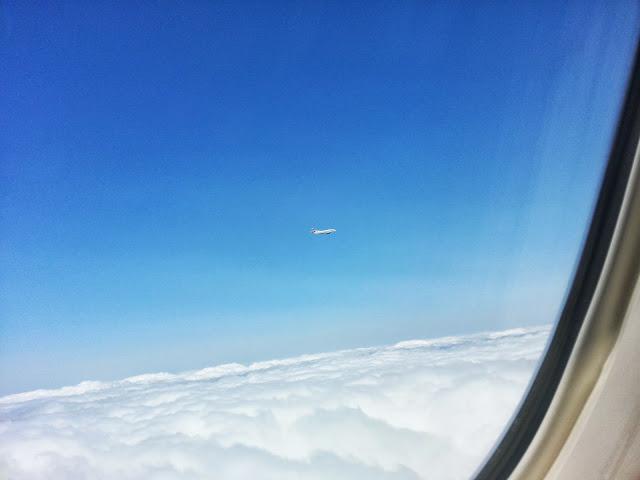 British Airways 747 in Holding