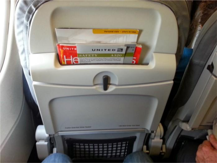 United Slimline A320 Seats