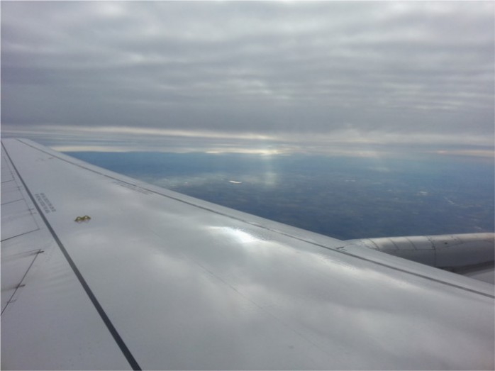 Departing Chicago