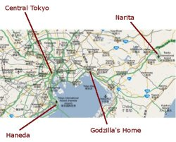 Tokyo Airport Locations