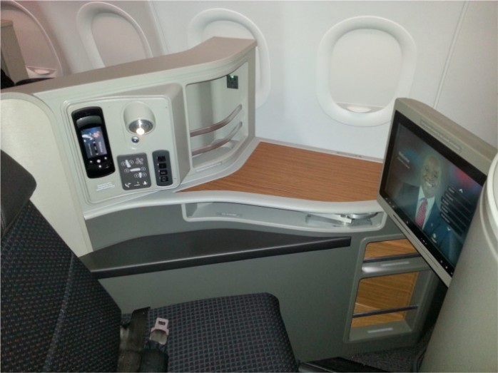 American Transcon A321 First Class