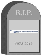 Ryan Intl Shut Down
