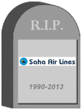 Saha Airlines Shut Down