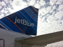 JetBlue Tailfin