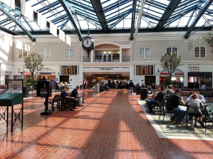 Savannah Main Terminal Area