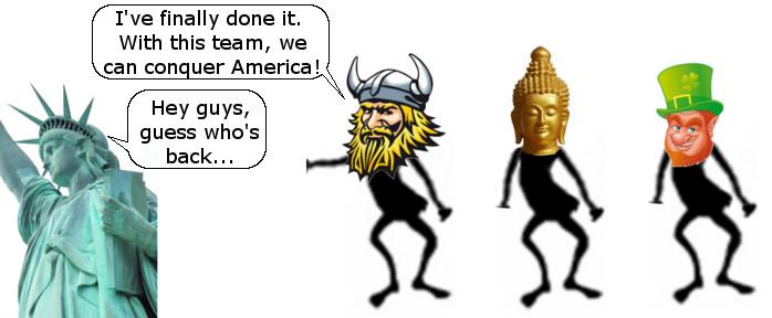 Norwegian Conquers USA