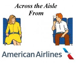 Across the Aisle From American Airl