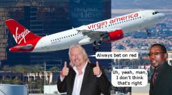 Virgin America IPO Bet on Black