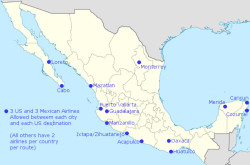 US Mexico Bilateral Air Services Agreement