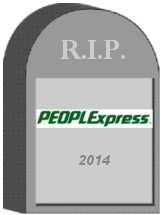 People Express Tombstone
