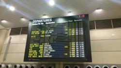 TBIT Departure Board LAX