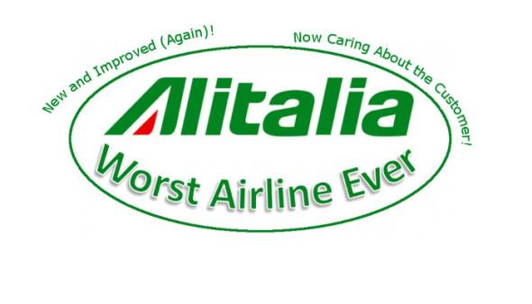 Alitalia Worst Airline Ever Again