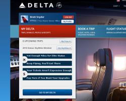 Delta Hides Mileage Balance April Fools