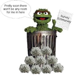 Surveys are Garbage