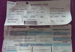 Monsieur Boarding Passes