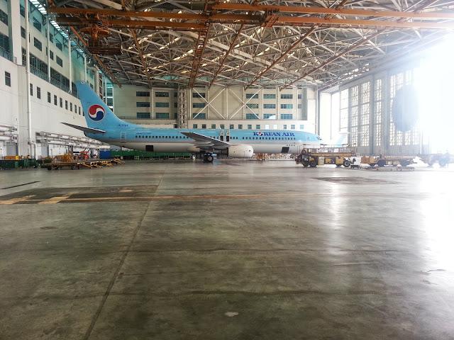 Korean 737 Hangar