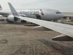 American 777 and 737 with Winglet