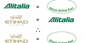 Etihad is Now the Worst Airline Ever, Thanks to the Transitive Property