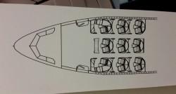 Hawaiian New A330 Seat Map